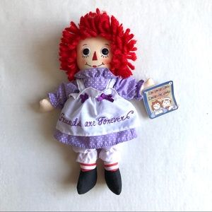 Aurora World Raggedy Ann Friends are Forever Doll